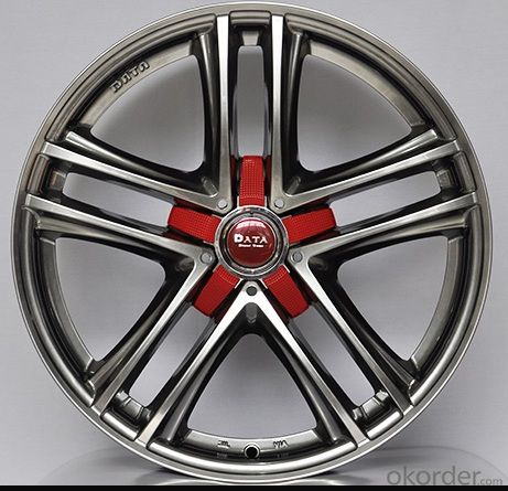 Aluminum wheel rim for all car with 5 Hole High Performance