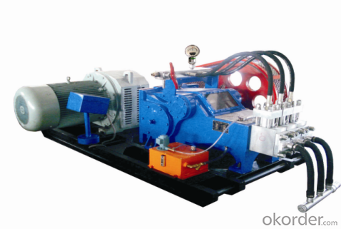 GPB-90 Type High Pressure Triplex Plunger Pump