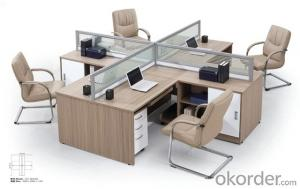 Office  Table  Office MDF Wood Furniture Desk 2015 High Quality CNC02