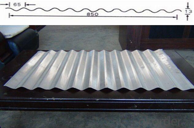 BWD-400/1300 corrugated sheet automatic molding machine