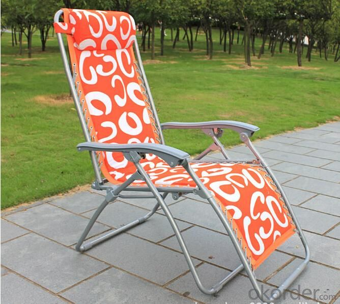 Fashion Leisure Outdoor Folding Picnic Chair With Table