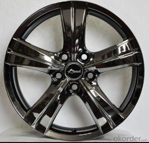 5 Hole Aluminum Wheel Rim for all car with 5 Spoke