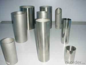 The 316L stainless steel pipes