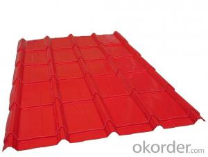 Galvanized Color Coated Steel Roofing Tile