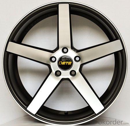 Aluminum wheel rim for all car with 5 Spoke