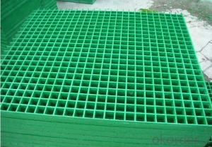 Fiberglass Grating Panel Sheet For Various Usage