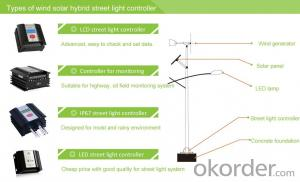 Waterproof Wind Solar Hybrid Street Light Controller