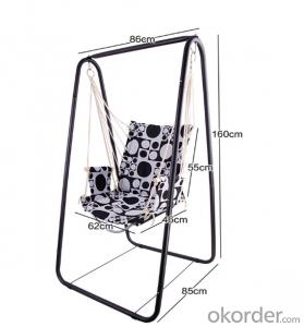 Portable Aluminum Folding Garden Swing Chair  Picnic Chair
