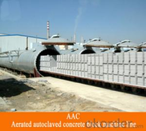 AAC Brick Making Machine ISO & CE certificate