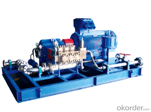 3D3-S Type High Pressure Pump for Descaling