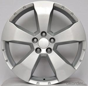 Aluminum Wheel Rim for all car with silver color