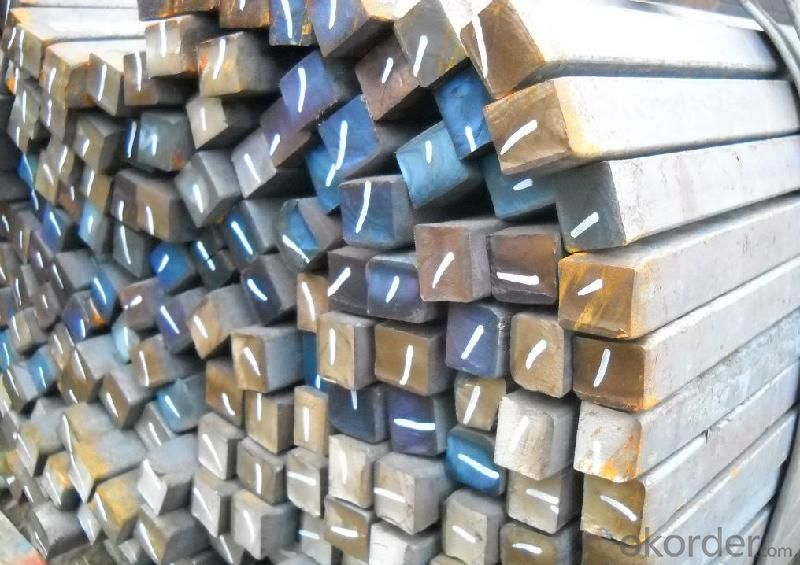 Hot rolled square steel; square steel bar