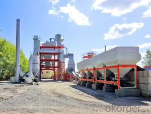 Asphalt Batching Plant with productivity of 160t/h
