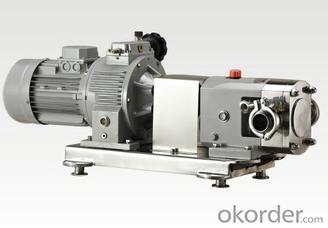 Sanitary Lobe Rotor Pump for High Adhesive Materials