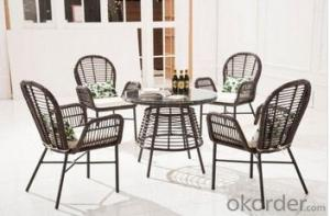 Outdoor Furniture New Arrival Royal Garden Rattan Dining Set