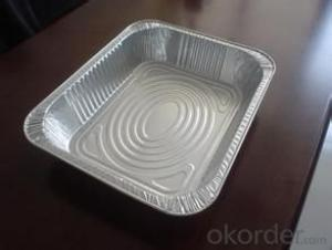 Aluminum Foil Food Container for Airline Service