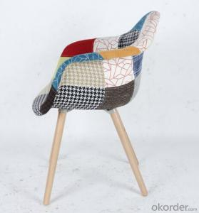 Fashional Splicing Fabric Eames Leisure Chair