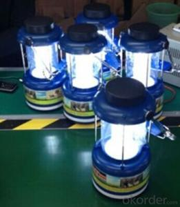 Environmental friendly solar lantern with AC charger and PV module