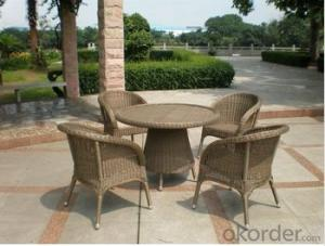 Classic Patio Furniture Wicker/cane Dining Set Outdoor Rattan Furniture