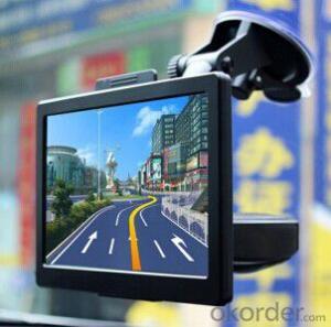 7 Inch Vehicle GPS Navigation, 8GB RAM, AV-IN, BT, 800*480 HD Screen