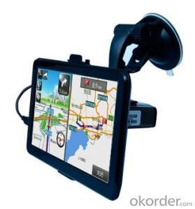 7 Inch Vehicle GPS Navigation, SiRF Atlas-V 800MHz, 8GB RAM, AV-IN, BT, 800*480 HD Screen