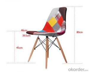Fabric Eames Leisure Chair for Home and Work Ofiice Use