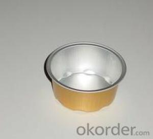 Colored Aluminium Foil Pet Food Container for Sale