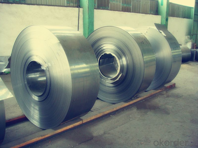Stainless Steel Coil 201 Hot / Cold Rolled Narrow Coil