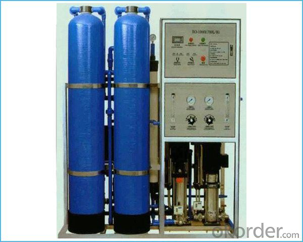 Standard environmental friendly reverse osmosis water treatment equipment