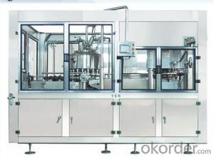 DGF series balanced pressure filling & sealing 2 in 1 monobloc