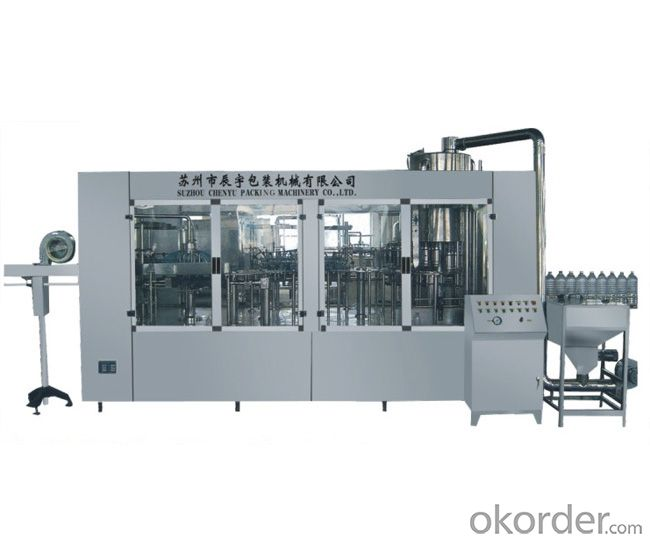 CCGF series sterilizing-washing-filling-calling-capping 4-in-1 monobloc CCGF16-16-12-6