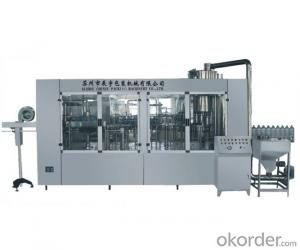CCGF series sterilizing-washing-filling-calling-capping 4-in-1 monobloc CCGF24-24-24-8