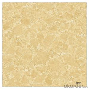 Polished Glazed Porcelain Tile The Yellow Color CMAXSB0076