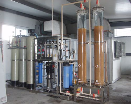 automatic water treatment equipment for cosmetic factory