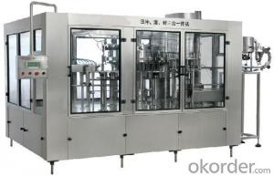 DCGF series balanced pressure filling 3-in-1 monobloc DCGF18-18-6