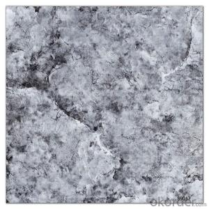 Polished Glazed Tile Black Color CMAXSB1307