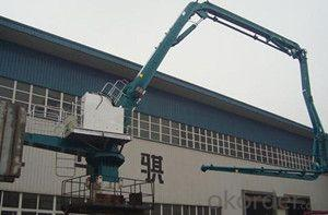 Hydraulic Concrete Placing Boom Model:PB24A3R
