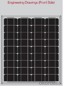 125mm Series CNBM Solar Monocrystalline (45W—50W)