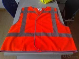 Safty Vest 11 colors 120gsm tricot fabric reflective safety vest for adult and children