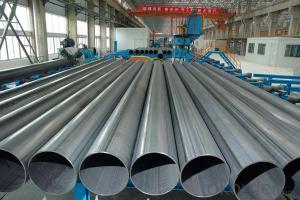 Straight Welded Steel Pipe ASME ANSI JIS GB Q195--Q345