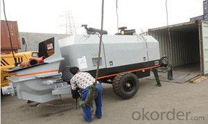 Concrete Machinery-Concrete Pump (Model:SP70.13.108D)