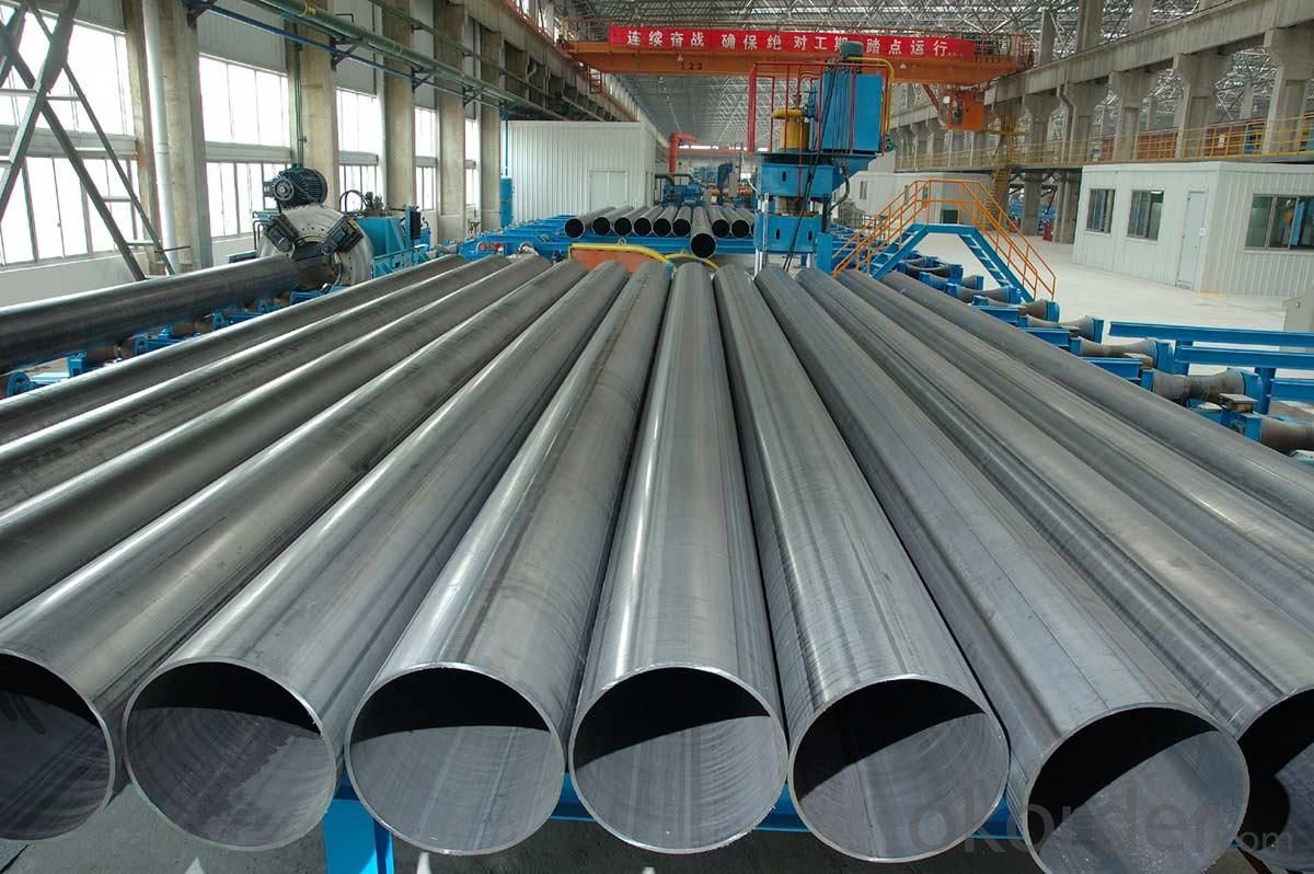 ERW Steel Pipe JIS, DIN, ASTM, API Q195-Q345