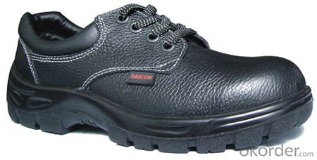 Safty Shoes Metal Free Leather Upper Composite Toecap Safety Shoes CE S3