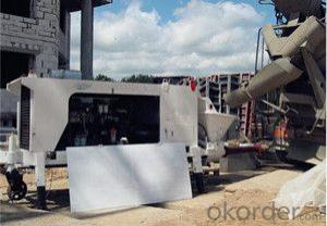 Environmental Concrete Pump used for construction