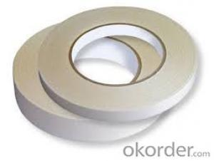 Water-based Acrylic double side tape jumbo roll, Tissue paper double side tape jumbo roll