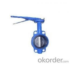 Lever Operated Lug type butterfly valve with NBR
