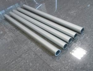 Aluminium Round Tubes/Pipes Used on Furniture