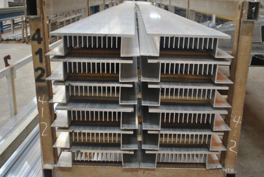 Aluminium Radiator Profiles for Industrial Use
