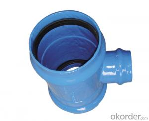 New DI water pipelines joints fittings,CHINA