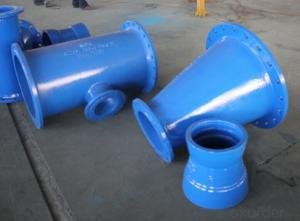 Flange end Epoxy coating Ductile iron fitting